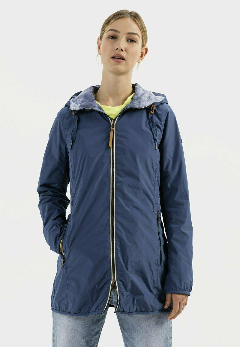 camel active - Reversible - Winter coat - blue