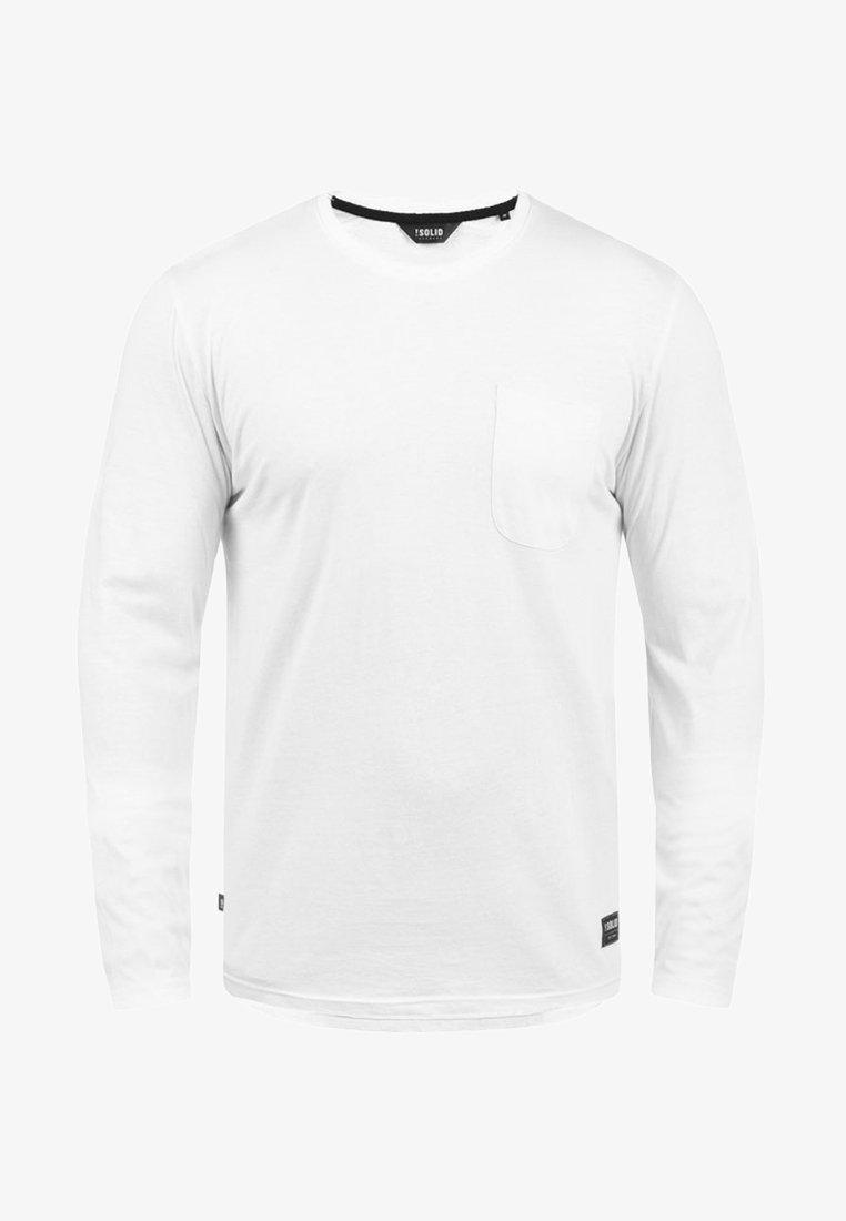 Solid Langarmshirt - white/weiß Hh6cvt