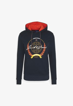 JORDORM HOOD - Hoodie - navy blazer
