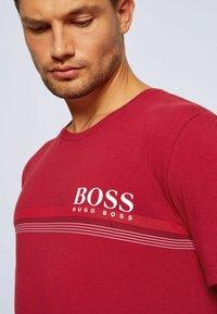 BOSS - Pyjama top - dark red - 3