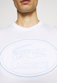 Lacoste - Print T-shirt - white - 5