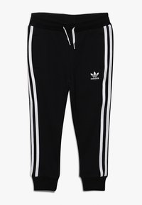 adidas Originals - TREFOIL HOODIE SET - Luvtröja - black/white - 2