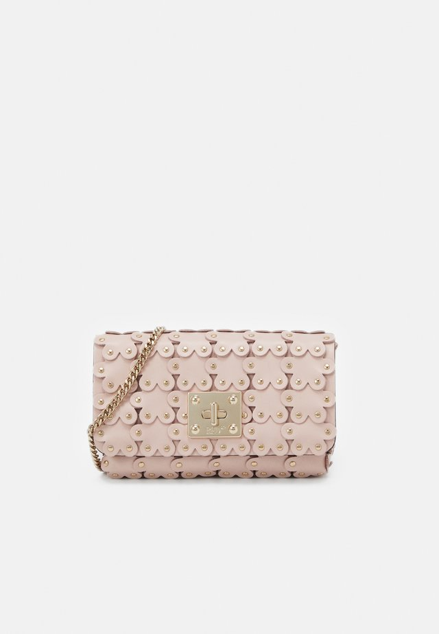 FLOWER PUZZLE WALLET ON CHAIN - Clutch - nude