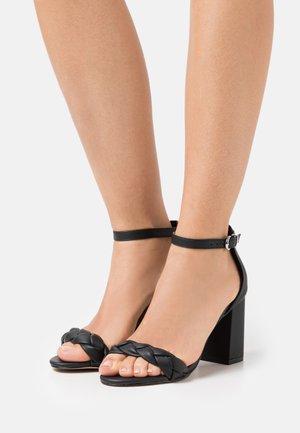 DEBBIE - Højhælede sandaletter / Højhælede sandaler - black