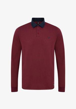 STRUAN - Polo shirt - burgundy