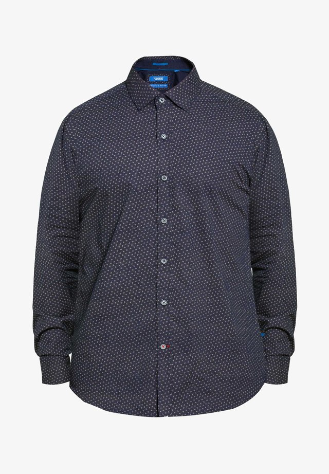BIG AND TALL LEAF PRINT - Shirt - blue