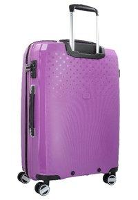 Hardware - Wheeled suitcase - purple - 1
