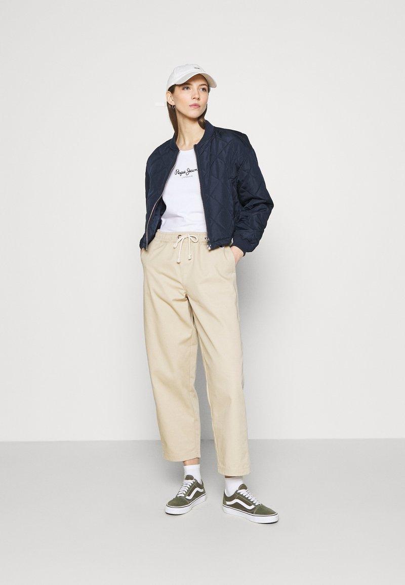 Pepe Jeans - NEW VRIGINIA SHORT SLEEVE 2 PACK - Basic T-shirt - black/white