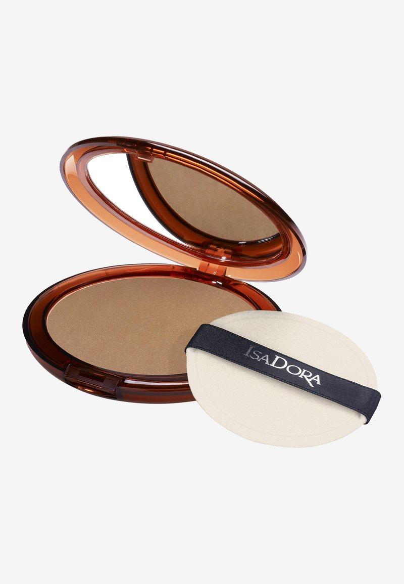 IsaDora - BRONZING POWDER - Bronzer - golden tan