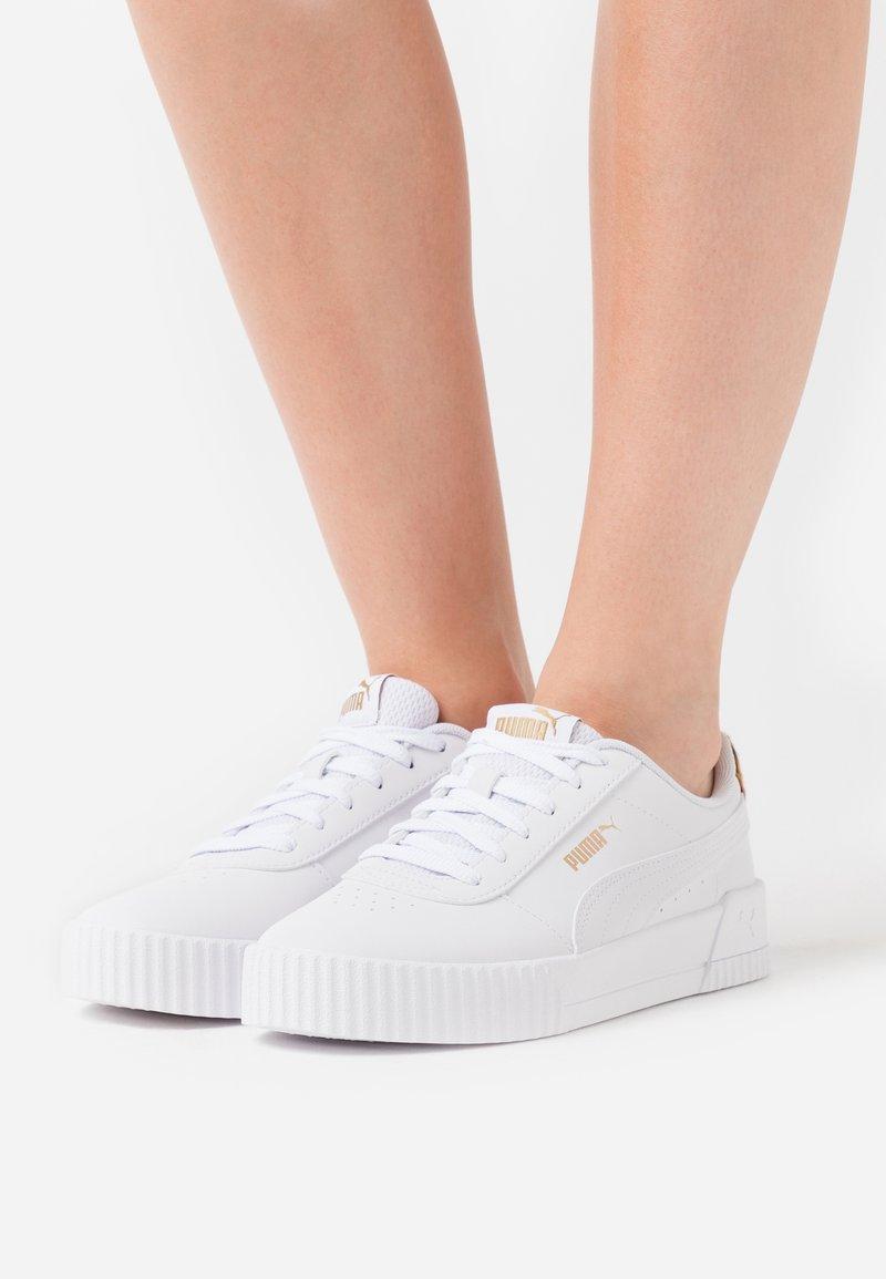 Puma - CARINA LEO - Sneakers - white