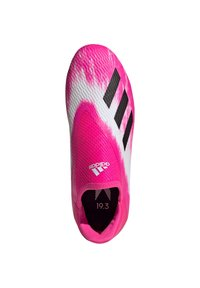 adidas Performance - ADIDAS PERFORMANCE X 19.3 LL FG FUSSBALLSCHUH  - Moulded stud football boots - footwear white / core black / show pink - 1