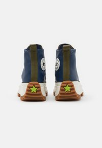 Converse - RUN STAR HIKE - Zapatillas altas - navy/dark moss/egret - 3