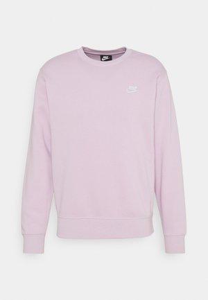 Sweatshirt - iced lilac/white