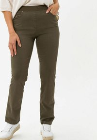 BRAX - Trousers - olive - 0