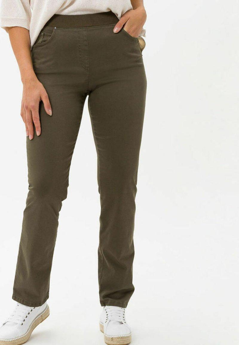 BRAX - Trousers - olive