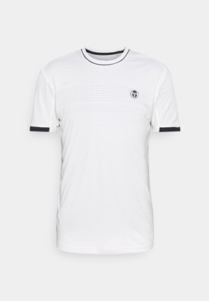TENNIS YOUNGLINE PRO - Basic T-shirt - blanc de blanc/night sky