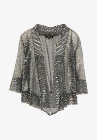 faina - Summer jacket - schwarz silber - 4