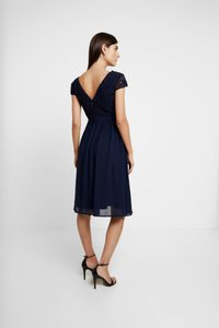 Chi Chi London Maternity - GLYNNIS DRESS - Vestito elegante - navy - 3