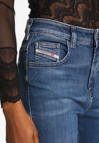Diesel - D-SLANDY-HIGH - Jeans Skinny Fit - blue denim - 4