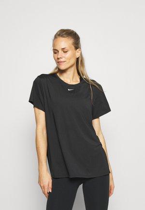 ONE SLIM - Basic T-shirt - black/white