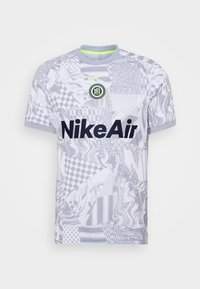 HOME - Print T-shirt - white/light smoke grey/reflective black