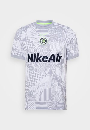 HOME - Camiseta estampada - white/light smoke grey/reflective black