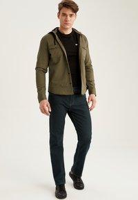 DeFacto - Denim jacket - khaki - 1