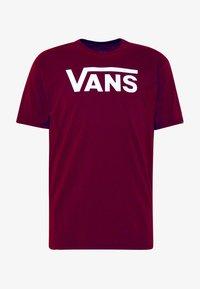 Vans - CLASSIC - Print T-shirt - port royale-white - 3