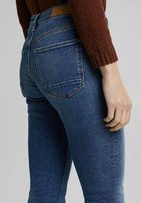 Esprit - FASHION  - Slim fit jeans - blue medium washed - 7