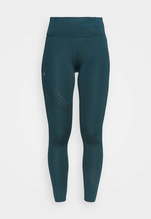 SPEED POCKET ANKLE  - Tights - dark cyan