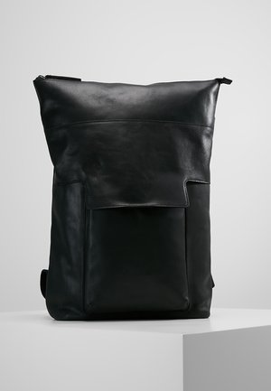 LEATHER - Sac à dos - black