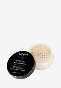 Nyx Professional Makeup - MINERAL FINISHING POWDER - Poudre - 1 light-medium - 0