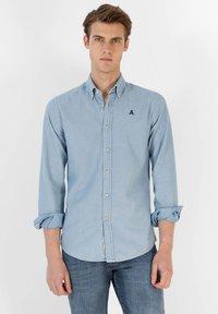 Scalpers - Shirt - denim - 0