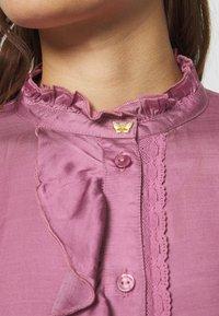 Fabienne Chapot - MIMI BLOUSE - Skjorte - dirty pink - 5