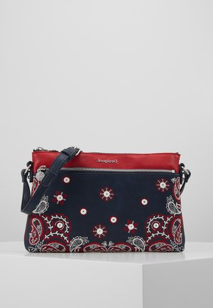 BANDANA EXPLOSIVE DURBAN - Across body bag - navy