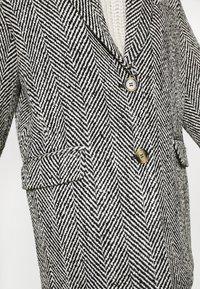 Gina Tricot - LINNEA COAT - Classic coat - black/white - 5