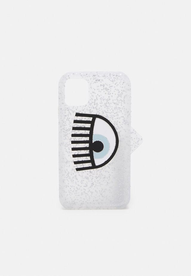LOGOMANIA GLITTER CASE IPHONE 11 - Étui à portable - silver