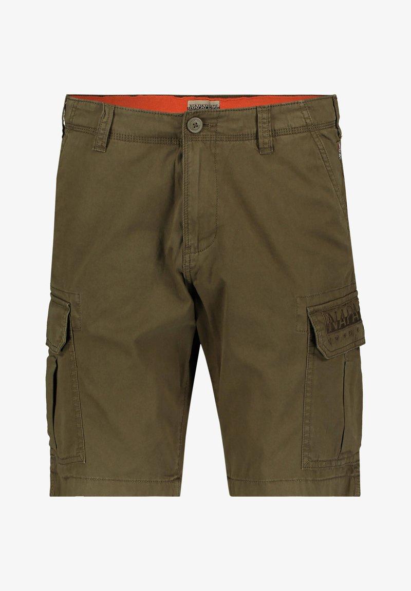 """Napapijri - NAPAPIJRI HERREN SHORTS """"NAAMA"""" - Shorts - grün (43)"""