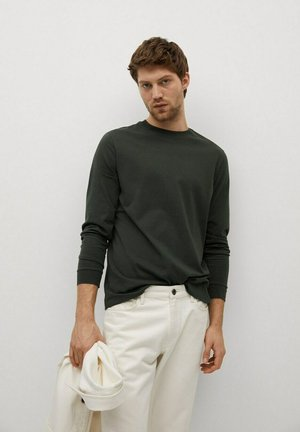 GARETH - Long sleeved top - kaki