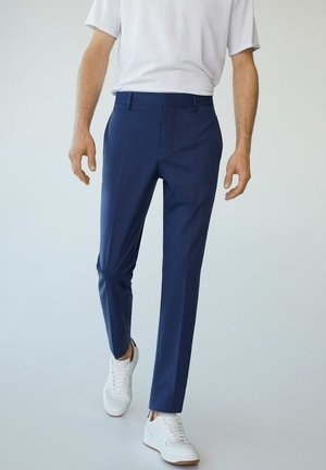 PAULO - Trousers - tintenblau