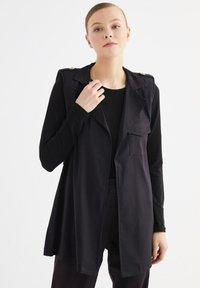 Trendyol - Summer jacket - black - 0