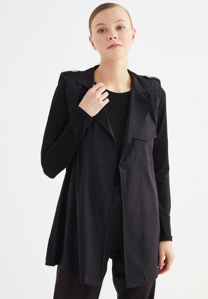 Trendyol - Summer jacket - black