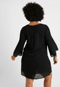 Zizzi - EXCLUSIVE EPRETTY DRESS - Korte jurk - black - 3