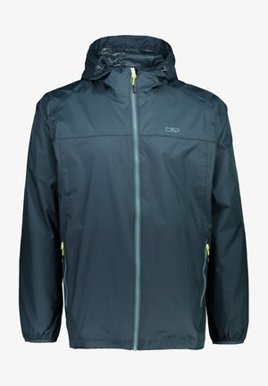Waterproof jacket - petrol