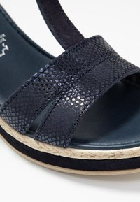 Marco Tozzi - High heeled sandals - navy - 2