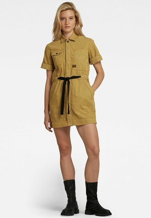 ARMY SHORT SLEEVE - Robe chemise - khaki