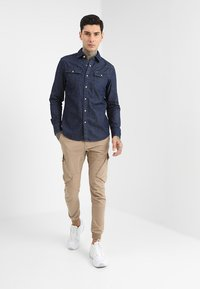 G-Star - 3301 SLIM - Shirt - rinsed - 1
