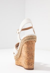 River Island Wide Fit - High heeled sandals - white - 5