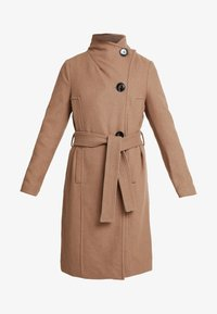 Vero Moda Petite - VMDANIELLA LONG - Classic coat - tobacco brown - 4