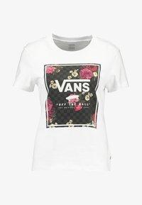 Vans - BOXED BOTANIC - Print T-shirt - white - 3